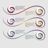 Wektorowy infographics Zdjęcie Stock