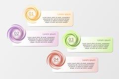 Wektorowy infographics Fotografia Royalty Free