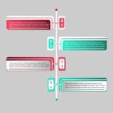 Wektorowy infographics Obraz Royalty Free