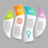 Wektorowy infographics szablon Zdjęcie Royalty Free