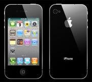 Wektorowy iphone 4 Zdjęcia Royalty Free
