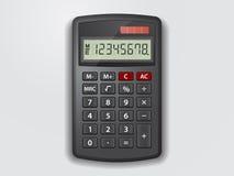 Wektorowy kalkulator Obraz Stock