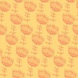 Wektorowy Kolorowy abstrakcjonistyczny retro wzór 03 Zdjęcie Royalty Free