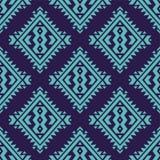 Wektorowy kolorowy bezszwowy dekoracyjny etniczny wzór Fotografia Stock