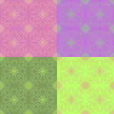 Wektorowy kolorowy bezszwowy płytka wzór Obraz Royalty Free