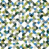 Wektorowy kolorowy geometryczny tło, jaskrawy abstrakcjonistyczny bezszwowy p Zdjęcia Royalty Free