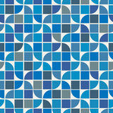 Wektorowy kolorowy geometryczny tło, wodnej fala tematu abstrakt Zdjęcie Stock