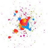 Wektorowy kolorowy tło projekt abstrakcjonistyczna tła projekta ilustraci mozaika Obrazy Royalty Free