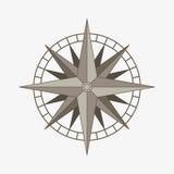 Wektorowy kompas wzrastał Obraz Royalty Free