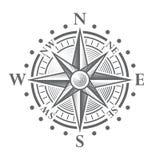 Wektorowy kompas Wzrastał Fotografia Royalty Free