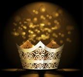 Wektorowy korony tło Zdjęcie Stock