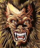 Wektorowy królewski potwora tło royalty ilustracja