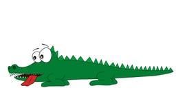 Wektorowy krokodyl Fotografia Stock