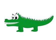 Wektorowy krokodyl Fotografia Royalty Free