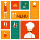 wektorowy kulinarny tło, ilustracji