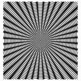 Wektorowy kurenda wzór jak pająk sieć, czarny i biały abst ilustracja wektor