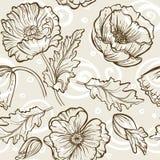 Wektorowy kwiatu wzór Ilustracji