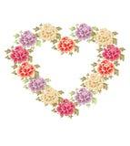 Wektorowy kwiatu wzór Zdjęcia Stock