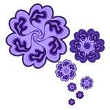 Wektorowy kwiecisty ornament Obraz Royalty Free
