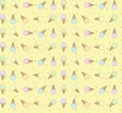 Wektorowy lody wzór Obraz Royalty Free
