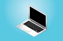 Wektorowy MacBook powietrze 2014 Obraz Royalty Free