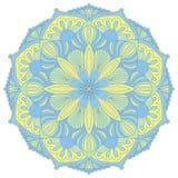 Wektorowy mandala Orientalny dekoracyjny element Obrazy Stock