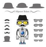 Wektorowy modnisia robot Ilustracji