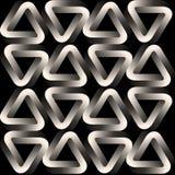 Wektorowy monochromu wzór nowożytna elegancka tekstura Obrazy Royalty Free