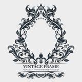 Wektorowy monogram Elegancki emblemata logo E r r royalty ilustracja