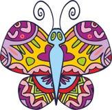 Wektorowy motyl 1 Zdjęcia Royalty Free