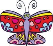 Wektorowy motyl 2 Zdjęcia Royalty Free