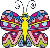 Wektorowy motyl 3 Obrazy Royalty Free