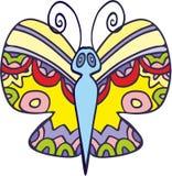 Wektorowy motyl 5 Fotografia Stock