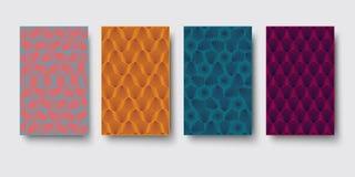 Wektorowy nowożytny geometria wzoru sześciokąt, abstrakcjonistyczny geometryczny tło, modny druk, monochromatyczna retro tekstura Zdjęcia Stock