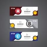 Wektorowy okręgu infographics biznesowego projekta szablon Fotografia Stock