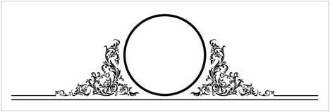 Wektorowy ornament tytułowa strona Obraz Stock