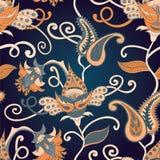 Wektorowy Paisley indyjski ornament Obrazy Stock
