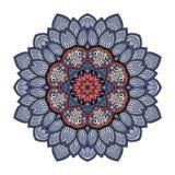 Wektorowy Piękny Deco Barwiony mandala ilustracji