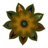 Wektorowy Piękny Deco koloru mandala ilustracja wektor