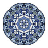 Wektorowy Piękny Deco Barwiony mandala Zdjęcia Royalty Free