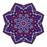 Wektorowy Piękny Deco Barwiony mandala Obraz Royalty Free