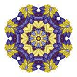 Wektorowy Piękny Deco Barwiony mandala Zdjęcia Stock