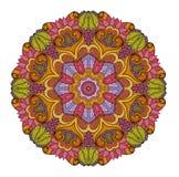Wektorowy Piękny Deco Barwiony mandala Fotografia Stock
