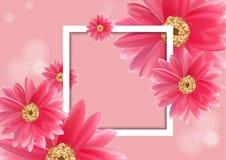 Wektorowy piękny kwiat dla sztandarów Obrazy Stock