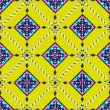 Wektorowy Plemienny etniczny ornament Wystrojów elementy Fotografia Stock