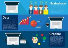Wektorowy pojęcie rozwój biznesu ilustracji