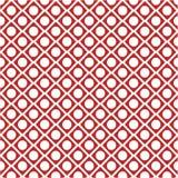 Wektorowy polek kropek wzór Kropka trójboka inside tło Fotografia Stock