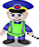 Wektorowy policjant Zdjęcia Stock