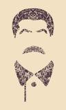 Wektorowy portret Joseph Stalin ilustracji