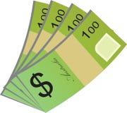Wektorowy projekt Australijska waluta Fotografia Royalty Free